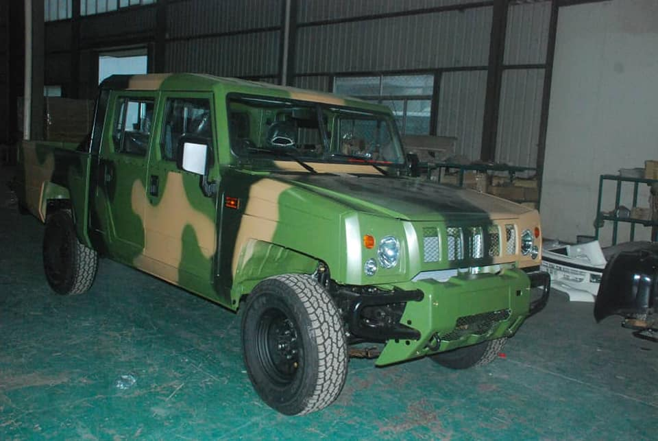 Innoson Manufactures Modern Vehicles For Army Warrant Officers