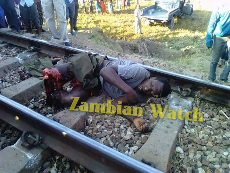 Man Thrown Onto Rail Tracks, Limbs Cut Off After Owing Money