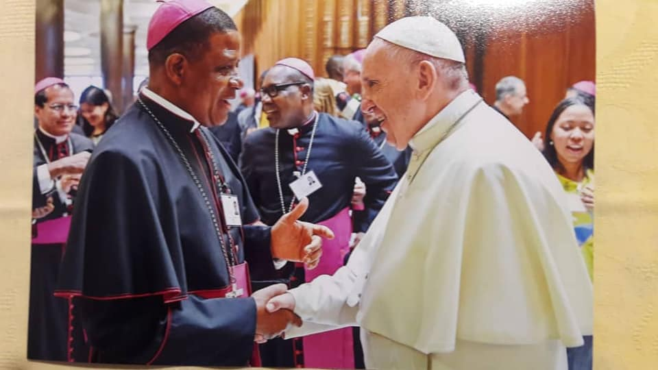 Nigerian Bishops Meet Pope Francis At A Conference In Rome