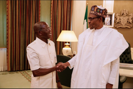 Read What Adams Oshiomhole Told Buhari About Lagos APC Primaries