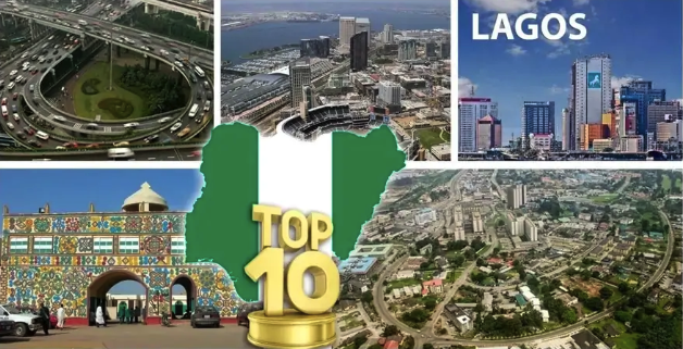 Top 10 Most Developed Cities In Nigeria In 2018