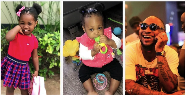 Check Out The Most Adorable Pictures Of Davido's Children