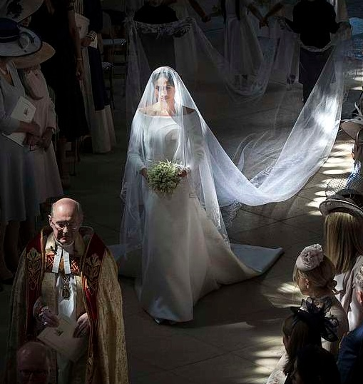 One Of Meghan Markle's Wedding Photos Crowned The BEST Royal Photo Of The Year