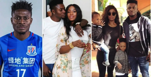 ObafemiMartins Wife And Kids: All You Need To Know (Photos)