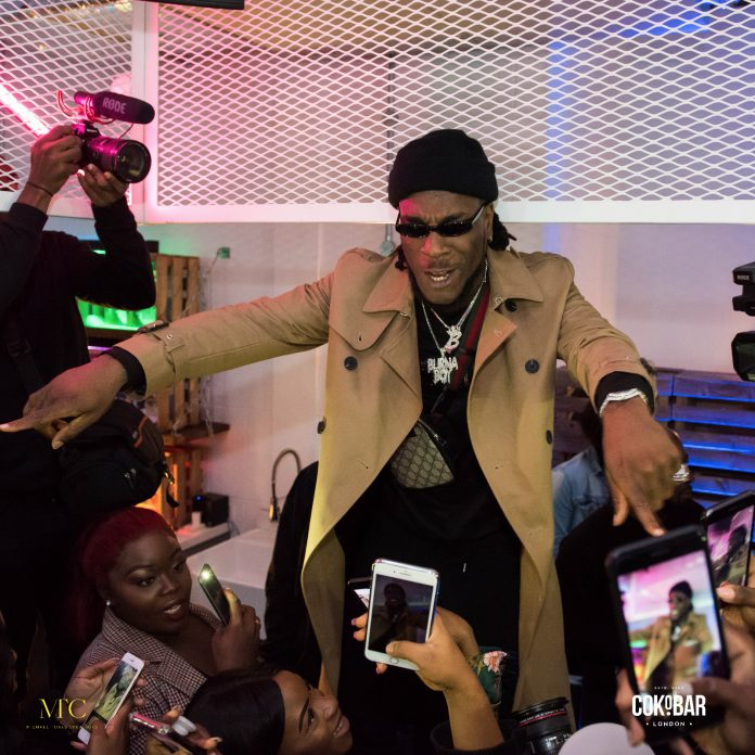 Burna Boy Has Been Listed As One Of Spotify's New Afro Hub Takeover Artist