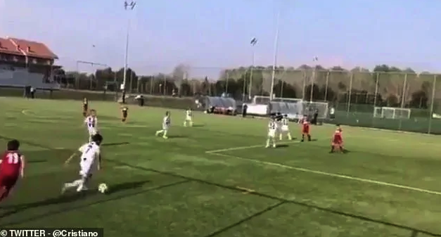 Cristiano Ronaldo Jr Scores 2 Brilliant Goals His Dad Would Be Proud Of
