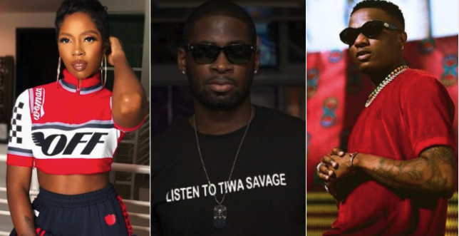 Teebillz gets trolled on social media as Wizkid and Tiwa Savage get intimate in Fever