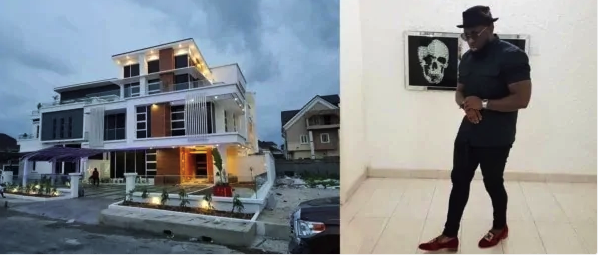 Take A look AT Timaya's New Mansion In Lekki (Photos)