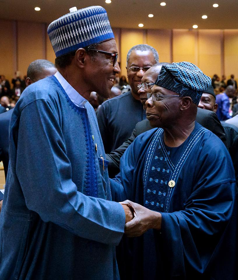 Obasanjo Shades Buhari Again, Says He's Hand To Week To Sign African Free Trade Deal