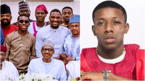 See Buhari's Reaction after Small Doctor Told Him 'Stop Sleeping' At A Public Convention… see reaction