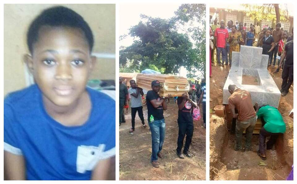 13-Year-Old Girl R@ped By Uncle And Son Finally Buried Amid Tears