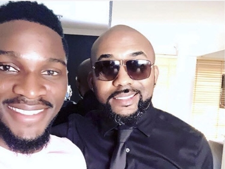 Check Out These Throwback Vs Recent Photos Of BBNaija's Tobi With Banky W