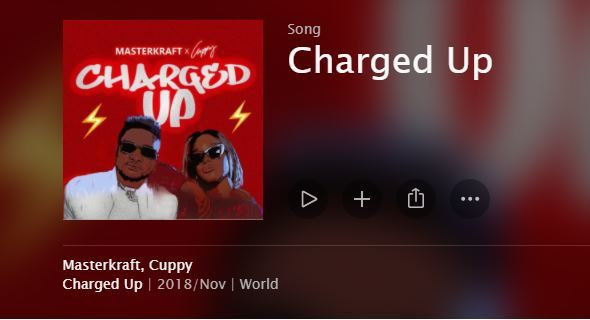 Download Masterkraft & Cuppy Charged Up Mp3 Download