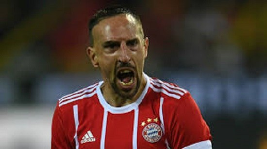 France Star Ribery Apologises for Slapping TV Pundit