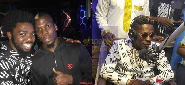 Pogba Storms Shatta Wale's Reign Concert In London
