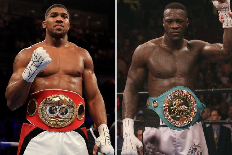 Wilder Trolls Anthony Joshua, Says Fight with Fury will Determine No 1 Heavyweight