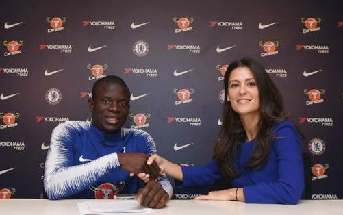 N'Golo Kante Signs New Chelsea Contract Worth £290,000-a-week