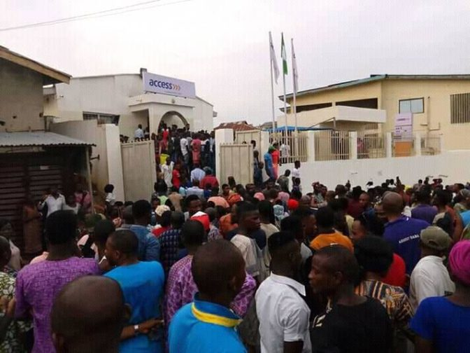 Too Bloody! Over 3 Innocent Persons Killed As Armed Robbers Storm Bank In Ekiti (Photos)