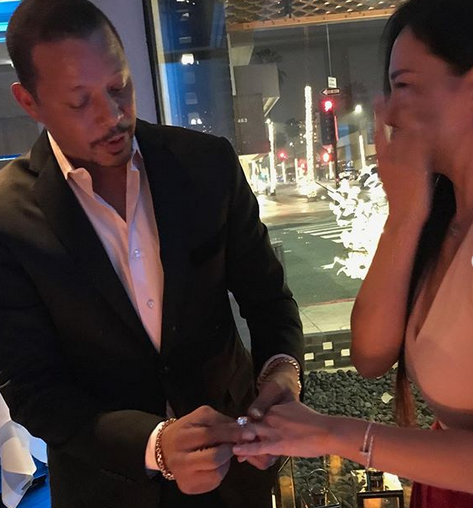 Empire Star Terrence Howard Proposes To Ex-Wife Three Years After Divorce [Photos]