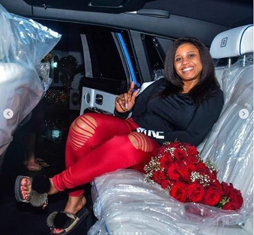 E-money Spends Lavishly On Wife With New Rolls Royce Gift