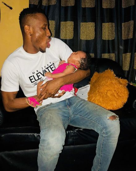 Singer, Mr 2kay Unveiled As Father Of Gifty's Child