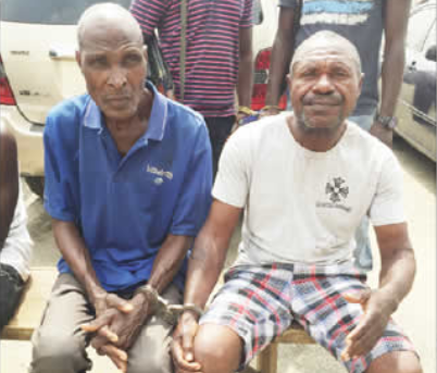 Photo: 58-year-old Man Arrested For Allegedly Defiling his 14-year-old Daughter In Lagos