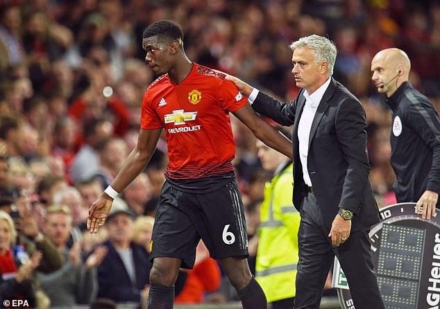 Paul Pogba Reacts To Jose Mourinho's Sacking With Cryptic Instagram Post