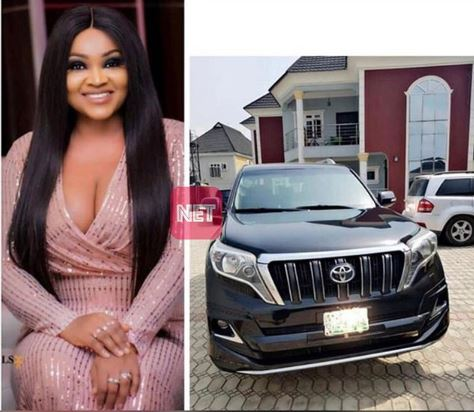 Actress Mercy Aigbe Reportedly Purchases Prado Jeep Shortly After Acquiring New House