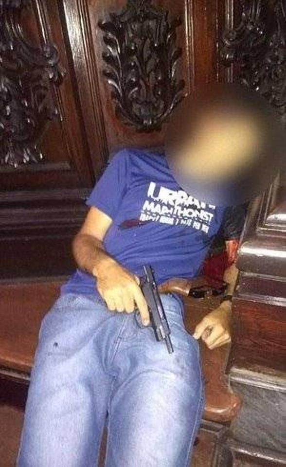 Gunman Opens Fire On Worshipers In A Cathedral Before Killing Himself (Photos)
