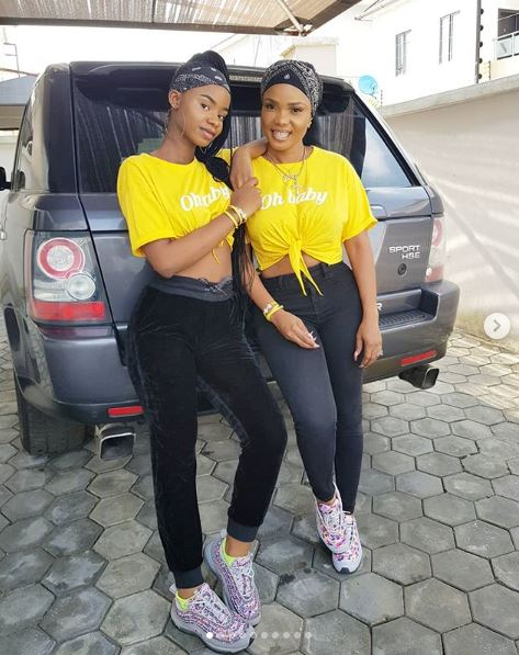 Iyabo Ojo And Her Daughter Step Out In Style (Photos)