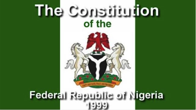 Constitution Of Nigeria And Its Importance