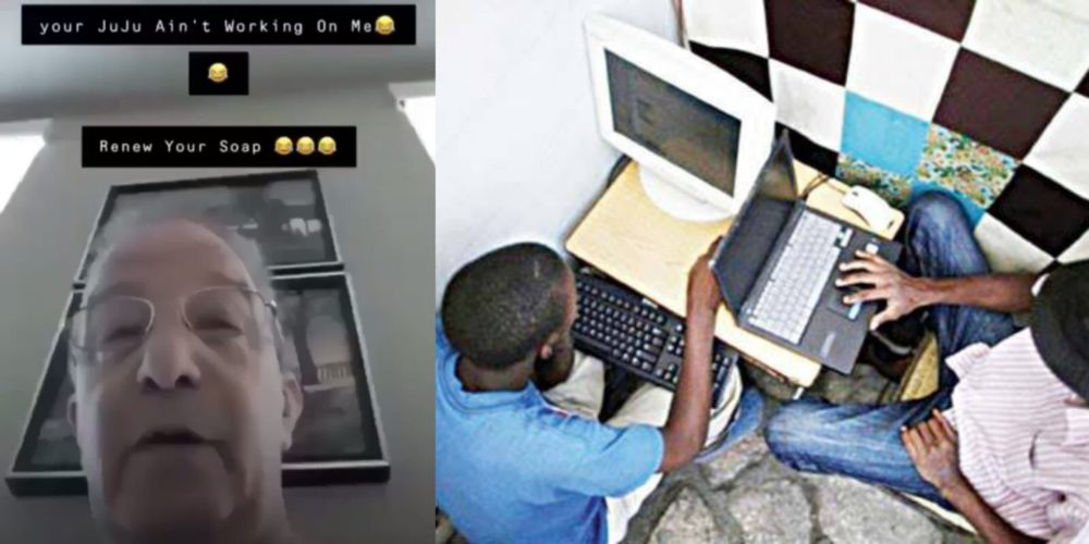 Your Juju Ain't Working On Me - White Man Tells Nigerian Internet Fraudster (Watch Video)
