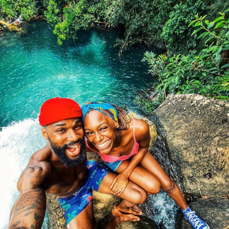 #BBNaija's Mike Edwards & Perri Celebrate Honeymoon on the Island of Mauritius