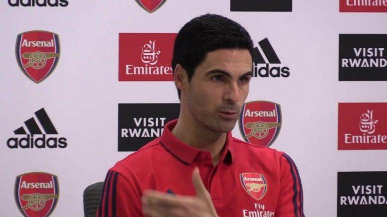 UEFA: Arsenal Boss, Arteta Reacts To Champions League Ban On Manchester City
