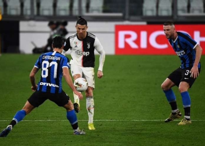 Juventus Beat Inter To Go Top After Coronavirus Chaos