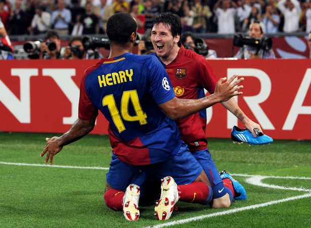 Lionel Messi Explains Why He Wouldn't Look Thierry Henry In The Face