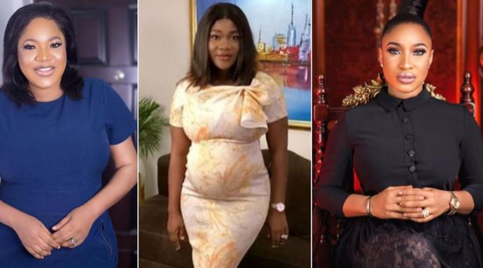 Toyin Abraham, Tonto Dikeh, Other Celebs Pray For Pregnant Mercy Johnson
