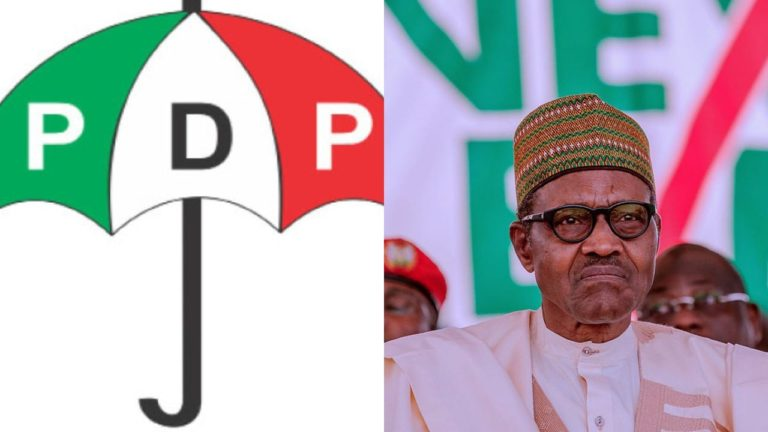 COVID-19: Your Speech Empty, Offered No Solution – PDP Blasts Buhari Over Broadcast