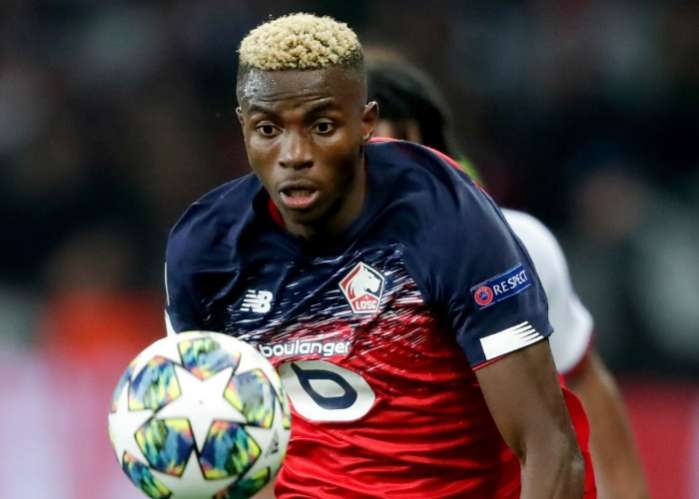 Arsenal Chiefs Identify Victor Osimhen As Pierre-Emerick Aubameyang's Replacement