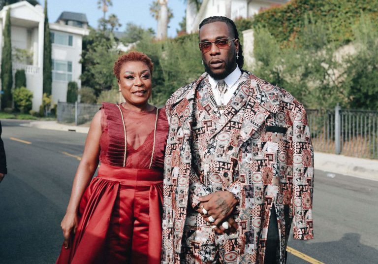 Burna Boy and His Mother Playfully Blast Stefflon Don For Supporting Vybez Kartel Against Wizkid