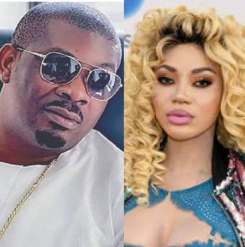 Don Jazzy and Dencia