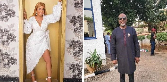 Senator Dino Melaye Debunks Engagement Rumour To Actress Iyabo Ojo