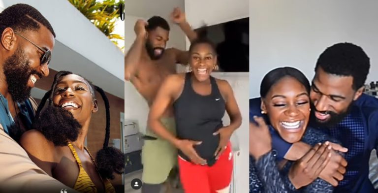 BBNaija's Mike And Wife, Perri Finally Reveal The Gender Of Their Baby (Video)