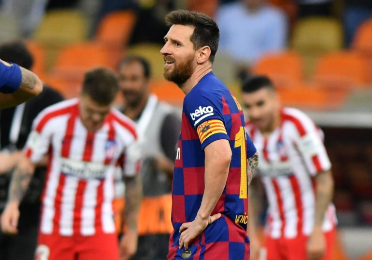 I wanted to leave Barca – Messi