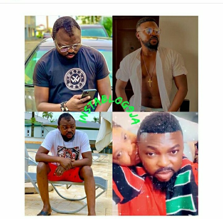 Different Looks Of Toyin Abraham's Husband Before And After Getting The Lace Wig (Photos)