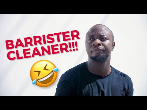 COMEDY VIDEO: Mc Lively – Barrister Cleaner