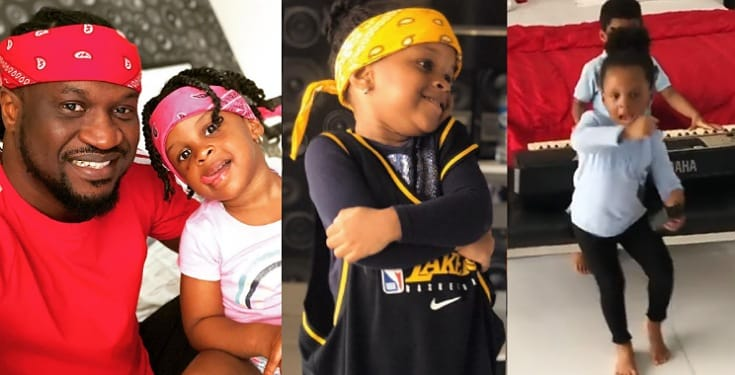 """""""Musically Good"""" – Paul Okoye Hypes His Little Daughter, Nadia As She Shows Off Her Rap Skills (Video)"""