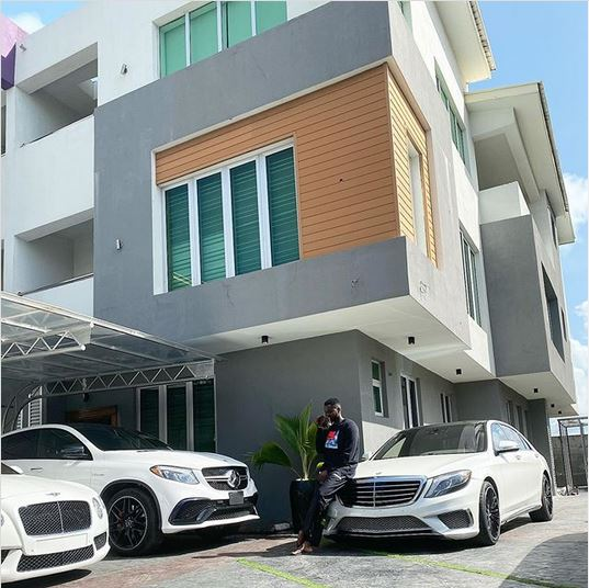 Too Much Money! Kizz Daniel Shows Off His House And His Expensive Cars (Photo)
