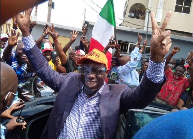 Breaking News: Obaseki Arrives PDP National Secretariat For Screening