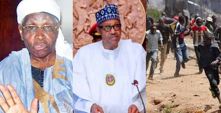 """""""You Have Failed Us"""" – Northern Elders Slam Buhari Over Insecurity"""